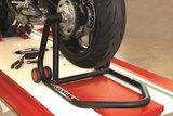 Paddock stand voor enkelzijdige wielophanging links LV8 for Ducati _