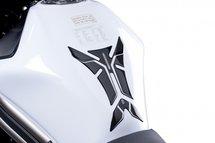 Tankpad Puig universeel zwart/carbon look for Ducati