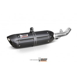 MIVV Suono Steel Black RVS demper (INCL CAT VERV)