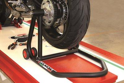 Paddock stand voor enkelzijdige wielophanging links LV8 for Ducati